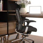 sala de escritório exemplifica como limpar cadeira de escritório